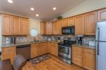 Kitchen with Stainless Appliances & Granite Countertops