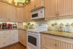 Kitchen offers Updated Appliances and Granite Countertops