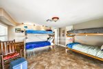 Bunk Bedroom with 2 Bunk Beds - sleeps up to 4, lower level