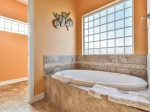 Master en Suite Bath with Large Soaking Tub