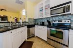 Kitchen offers updated stainless appliances