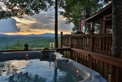 Long-range Mountain Views , Even From the Hot Tub