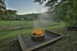 Fire Pit Overlooking Creek and Pasture