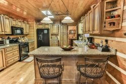 The Heart of the Cabin-Spacious Kitchen