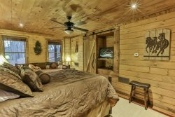 Book the Cowboy Room for a small extra rental fee