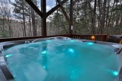 Private hot tub to soak your cares away