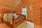 Upstairs king bedroom.