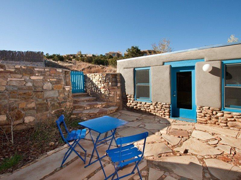 Pet Friendly Vacation Rental Two Casitas Santa Fe Hillside