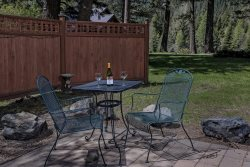 The perfect place for a couple's retreat!  Private outside patio often visited by the deer!