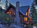 Beautiful, custom log home with a view of Wallowa Lake.