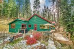 It`s a cottage in the woods of Wallowa Lake.