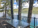 Beautiful pine and log home with a fantastic view of Wallowa Lake.