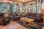 Gorgeous custom built two story home on the Wallowa River!