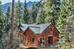 Front view of the Wallowa River House