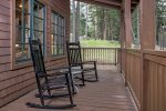 Sit a spell on the wrap around porch and just enjoy the quieter side of life.