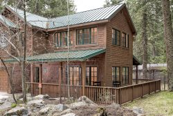 A modern day treehouse at Wallowa Lake while you stay at the Ram's Head.