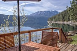 Stay in the cove of Wallowa Lake at one of the best locations with stunning views!