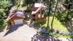 Drone view gives you a great idea of the outside living space you`ll get to enjoy.