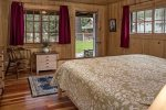 Second king sized bedroom also has an exterior door leading to the large yard.