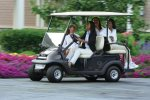 Rent a club car during your stay to drive around the Village and visit Gubler park amenities