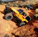 Southern Utah`s stunning rock formations are essential to the rock crawlers that