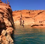 Cliff jumping, kayaking, paddle boarding, swimming, fishing, atv riding and so much more at Sand Hollow State Park