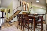 Gorgeous kitchen with restaurant-quality appliances and refrigerator with LCD TV built-in