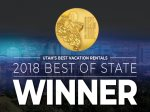 2018 Best of State Winner for Best Vacation Rental Company in Utah