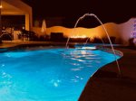 Enjoy several custom light sequences, perfect for night swimming