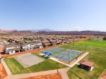 Pickleball courts, sand volleyball, pavilion, nature paths, and Gubler next door with baseball fields
