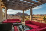 The premier view of scenic Santa Clara and Snow Canyon from this home`s upper balcony