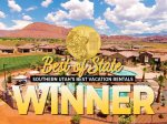 Utah`s Best Vacation Rentals - Winner of the Best of State award