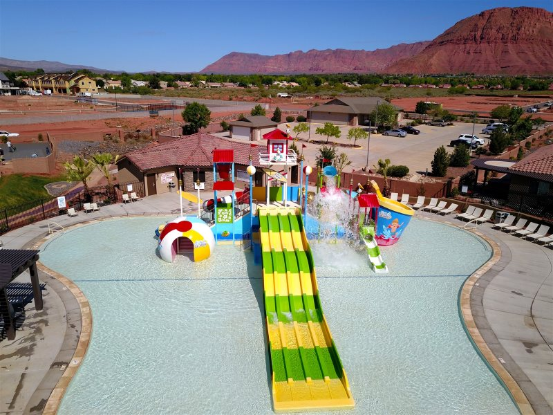 Bartlett Place at Paradise Village | 4 Bedroom St  George Vacation