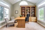Private office with sensational valley and mountain views