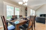 Breakfast nook dining table seats 6