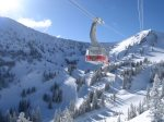 Ride the gondola to the top of Hidden Peak at Snowbird