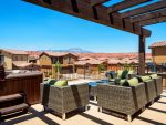 Enjoy panoramic views of Snow Canyon and the surrounding red rock