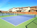 6 pickleball courts at Gubler Park, just a 5 minute walk from Paradise Village