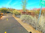 Paved walking and biking trails starting at Gubler Park
