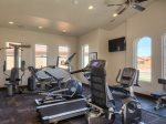 Guest work out room in Clubhouse