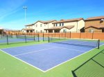 6 pickle ball courts at Gubler Park 5-minute walk