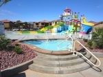 Guests can enjoy unlimited access to the 2-tier resort pool at Paradise Village