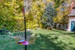 Backyard also includes everything you need for a fun game of disc golf