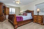 King master suite on lower level