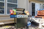 Grill and propane for outdoor entertaining