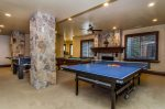 Game Room with Ping Pong Table, Pool Table, and Foosball