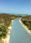 Private Walkway to the beach