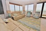 The Living Room Area Is Very Ample With Fantastic Oceanviews
