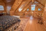 Adams Cove- Ocoee River Cabin Rental- bedroom 2