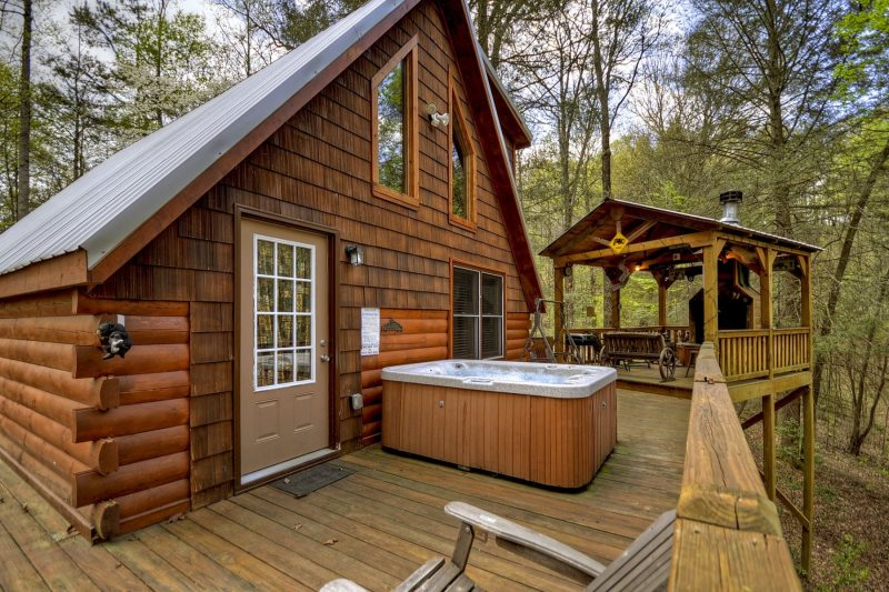 Broken Arrow Lodge Blue Ridge Cabin Rentals Ocoee River Cabin Rental